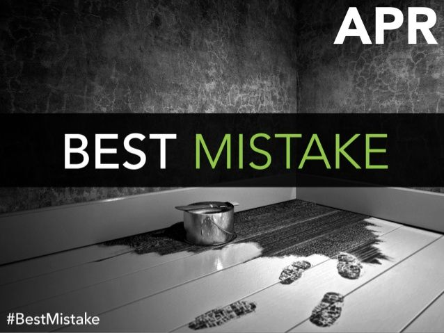 What's The Best Career Mistake You Ever Made? by LinkedIn Pulse via slideshare  | Love this! I believe in serendipity