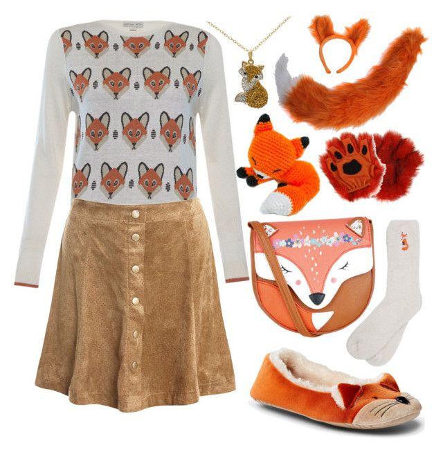 Fall Cutie Fox by linnybfox on Polyvore featuring polyvore fashion style Sans Souci M&Co John Lewis Monsoon clothing