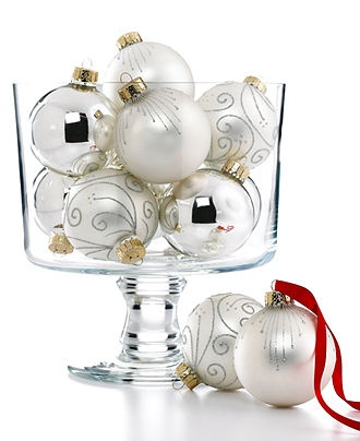 Walking in a winter wonderland Martha Stewart #ornaments #macys BUY NOW!