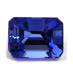 0.19 TCW Carat #Emerald #cut #Tanzanite, Price: $47.