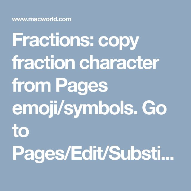 fractions copy fraction character from pages emojisymbols go to pagesedit