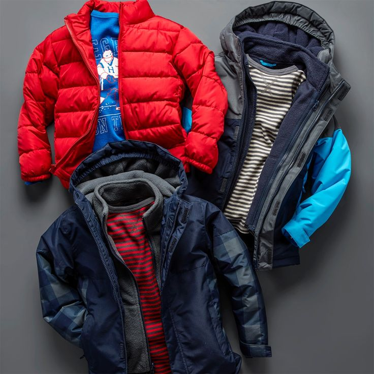 Boys' fashion | Kids' clothes | Cold weather jackets | Snow jackets | Puffer jacket | 3-in-1 jacket | The Children's Place