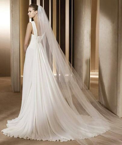 Прекрасная фата для самой красивой невесты..