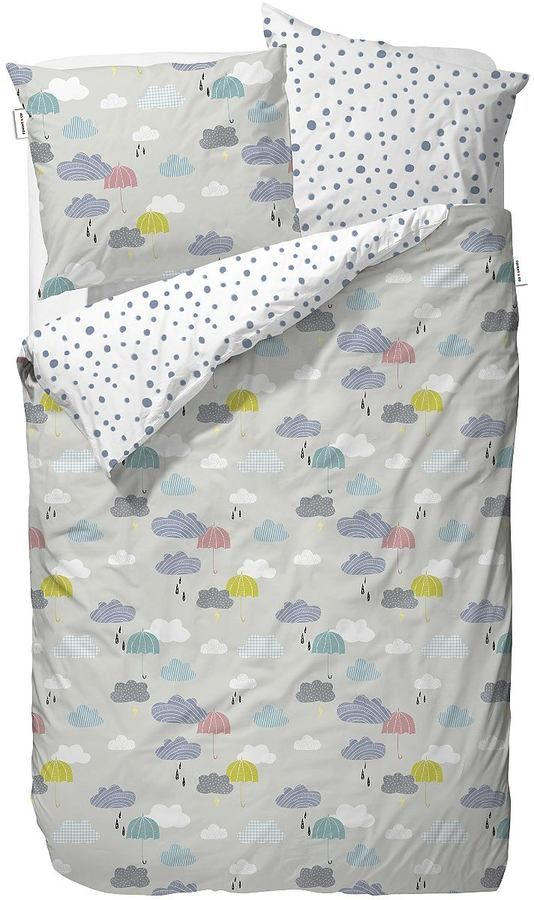 Kinderbettwäsche, Covers & Co, »Cloudy«, mit Wölkchen