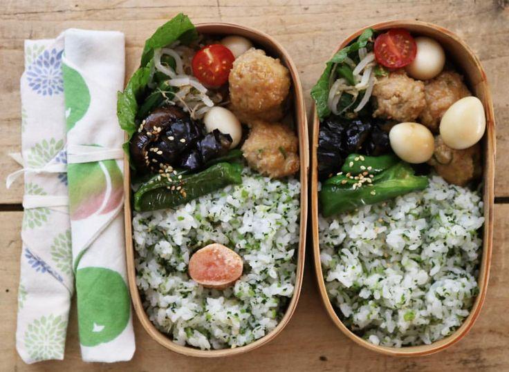 いいね!1,139件、コメント9件 ― masakiさん(@mogurapicasso)のInstagramアカウント: 「今日のお弁当 鶏つくねとうずらのたまご、もやしと小松菜のナムル、 茄子とピーマンの甘辛炒め、菜っ葉めしに、明太子ありなし。  #お弁当#bento#obento#sensdemasaki#雅姫弁」