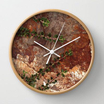 Nature Photo Wall Clock  Photo Clock  Nature by ShelleysCrochetOle