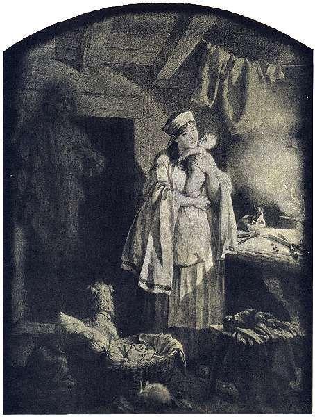 Artur Grottger - Lituania, V. Duch, 1866