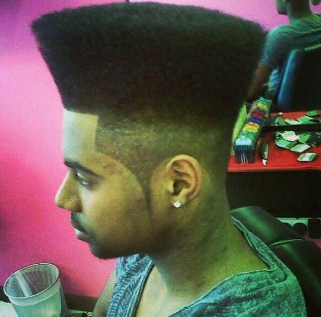 box cut hair style high top fade haircut guide how to pictures products 8752