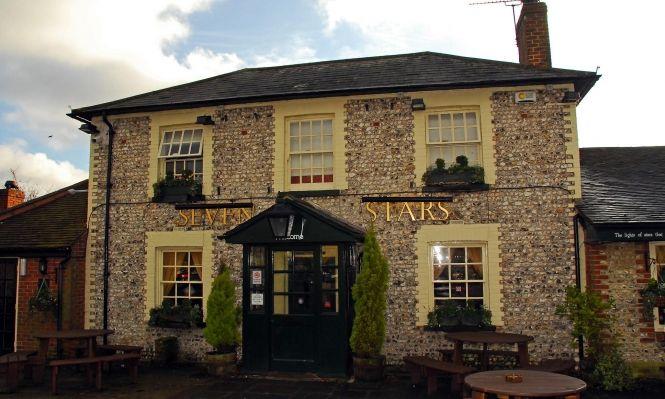 The Seven Stars, Pub Restaurant in 56 Winchester Road, Hampshire