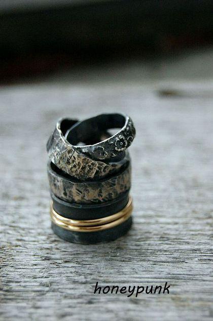 Кольца ручной работы. Ярмарка Мастеров - ручная работа. Купить Колечки из серебра. Handmade. Кольцо из серебра, кольцо простое, золото