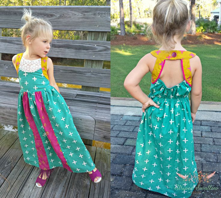 Soho Maxi Pattern 2T-14yrs from Striped Swallow Designs