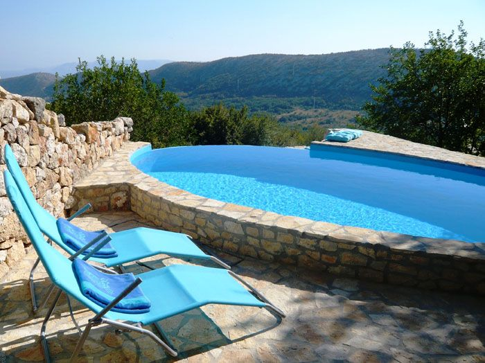 Private Villeta mit Pool in Kvarner Bucht mieten, Villa Happy