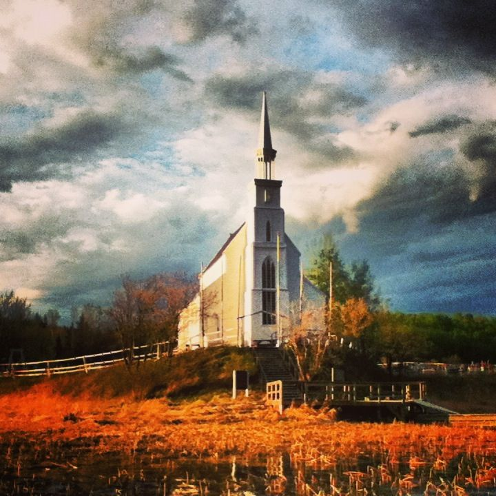 The oldest Church in Saskatchewan, Stanley Mission. My home town.