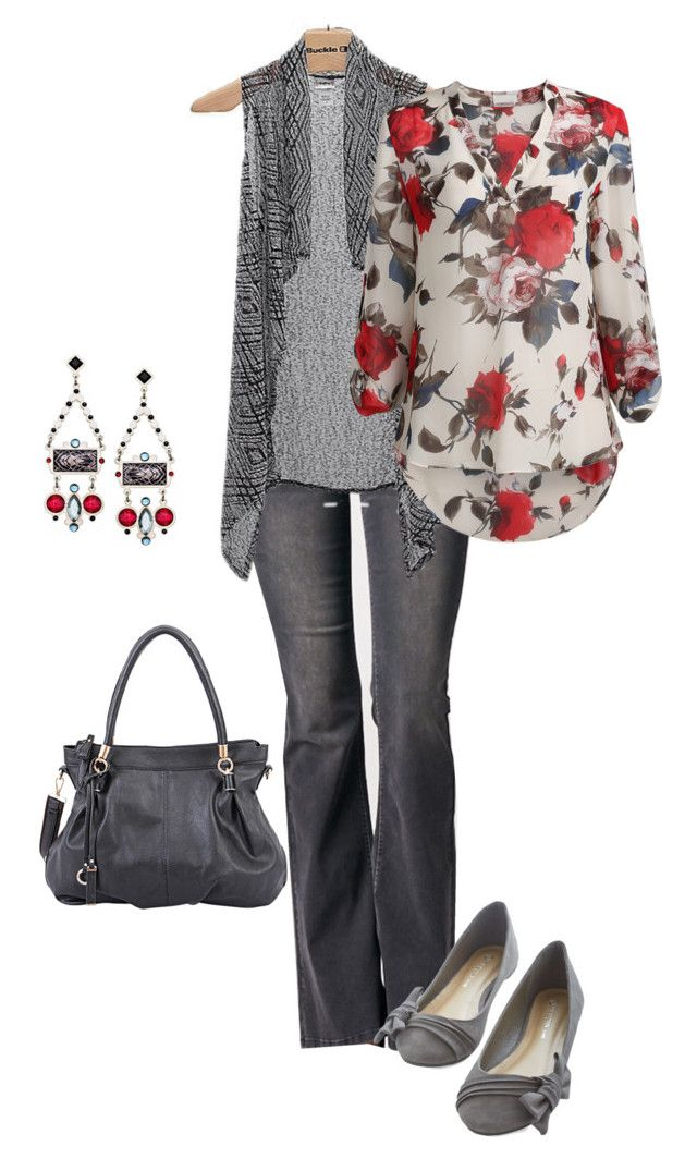 Roses Are Red - Valentine by marvelousmoxie on Polyvore featuring polyvore, fashion, style, Daytrip, Sneak Peek, Mellow World, Paris Blues and clothing