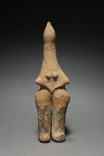 Figurine, 800s BC Iran, Amlash, 9th Century BC  terracotta