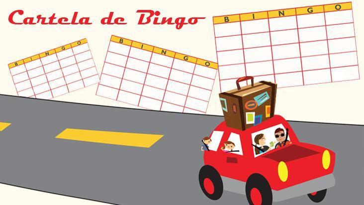 Bingo para viagens de carro: diversão garantida!