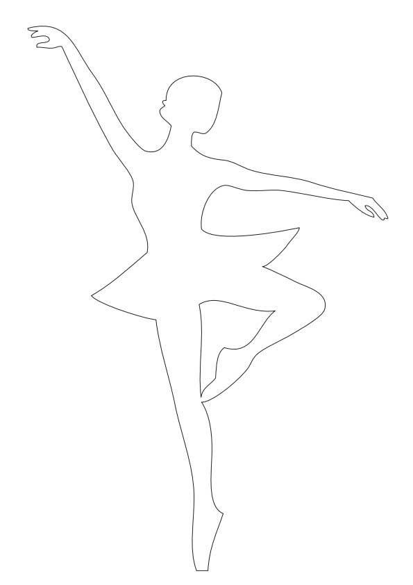 трафарет балерины из бумаги распечатать: 16 тыс изображений найдено в Яндекс.Картинках