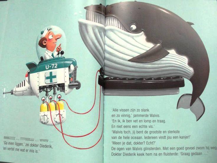 Diepzeedokter Diederik, digitaal prentenboek
