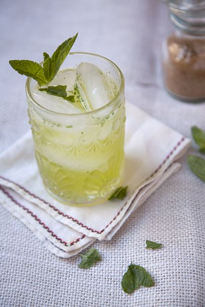 This Chartreuse Smash is so good that even a few vehemently anti-Chartreuse SAVEUR staffers were converted