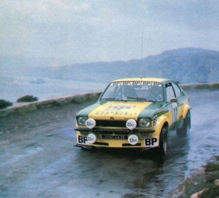 Guy Fréquelin (Opel Kadett GT) Tour de Corse 1976 - L'Automobile décembre 1976.