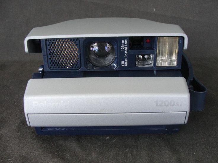 Vintage Polaroid Spectra 1200si Instant Camera Tested #Polaroid