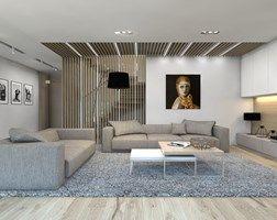 Salon styl Nowoczesny - zdjęcie od BAGUA Pracownia Architektury Wnętrz