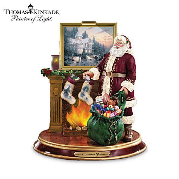 17 Best Images About Thomas Kinkade Christmas Decorations
