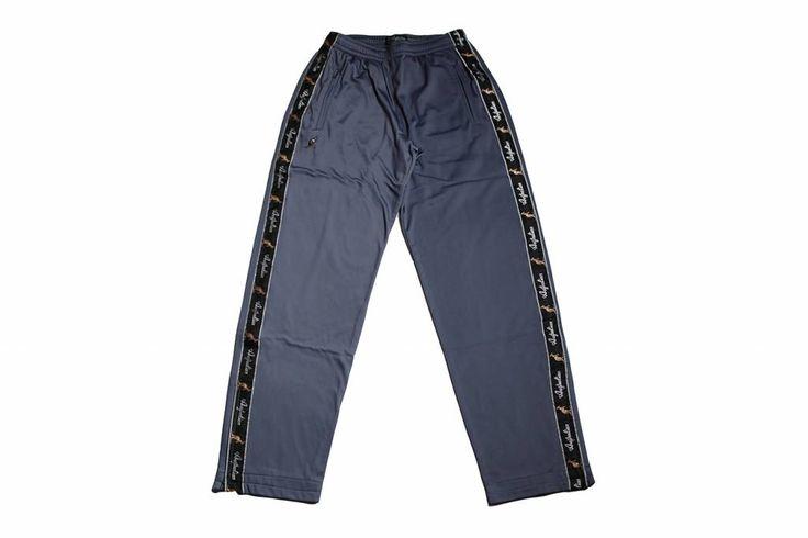 Australian Pantalon Triacetat Met Bies Grey (Grijs) 85057.963 Herenbroeken