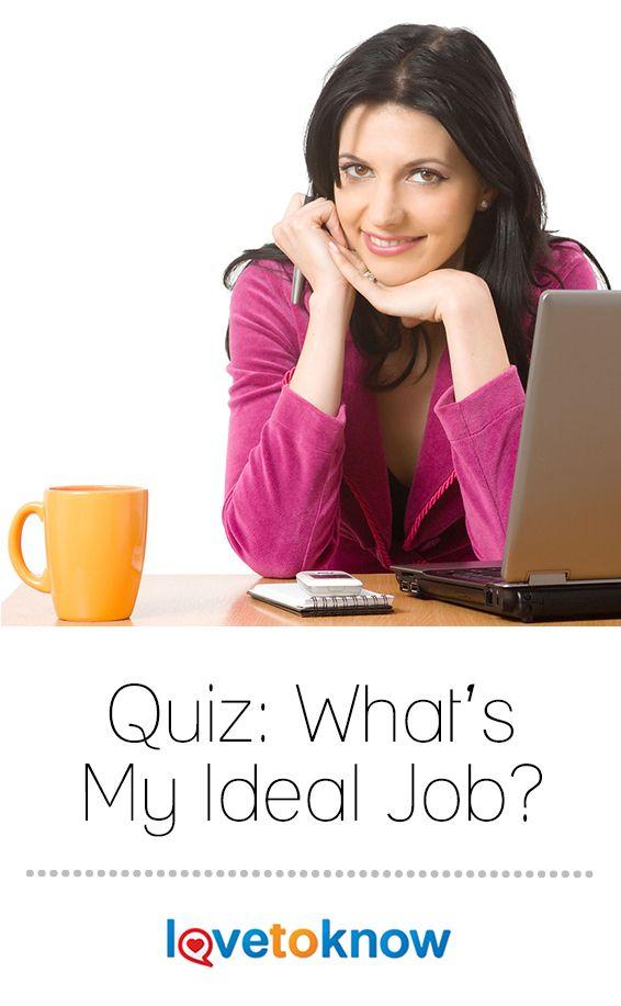 quiz to find my ideal job