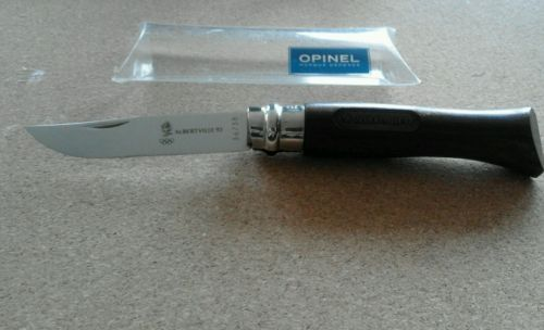 Opinel-n-8-Albertville-92-JEUX-OLYMPIQUES-canif-serie-numerotee-couteau-knife