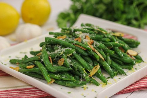 One of my favorite side dishes to serve with many, many different meals are green beans. These slender green beauties make any meal a special occasion, even if served on a normal Wednesday night. It only takes a few minutes to prepare the green beans, and you can even do most of the prep work …