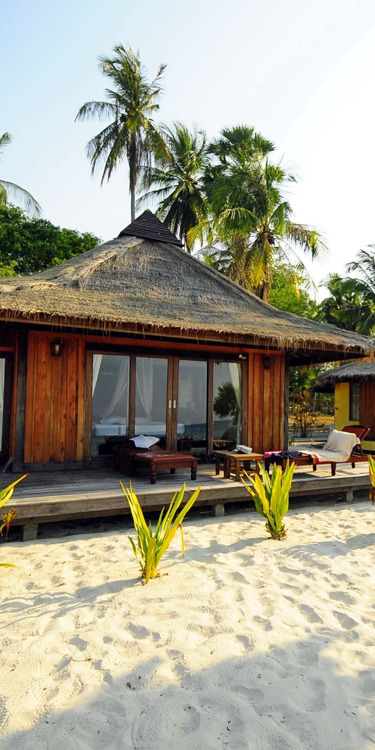 Koh Mook Sivalai Beach Resort at Trang islands, Thailand.