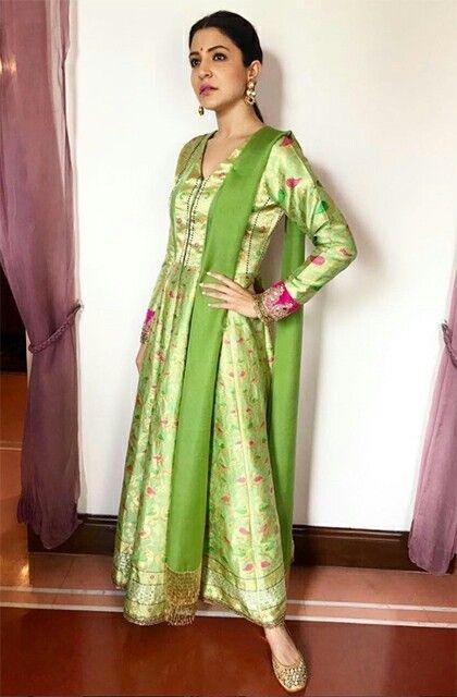 b9a2201724 Anushka in Manish Malhotra | dress designs | Fashion, Manish malhotra, Indian  fashion trends