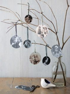 "What a great ""family tree"". Can envision one with tiny circle mirrors as accents."