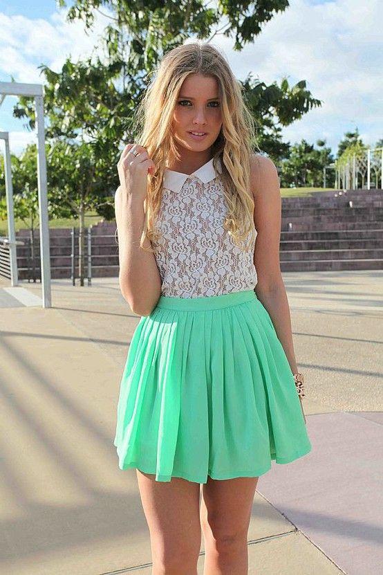 Le Calico Como Usar Faldas Plisadas Vestuario