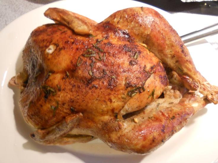 My 15lb Thanksgiving Turkey (apres Ina Garten's perfect recipe).  Gobble Gobble ;)