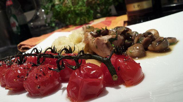 Een heerlijk kalfsvlees recept van Bilder en de Clercq, overgoten met een saus van Marsala en dragon