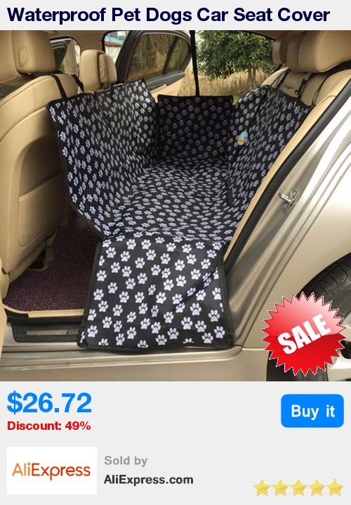 Waterproof Pet Dogs Car Seat Cover Safety Mat Rear Back Seat Cushion Protector Hammock Foldable Pet Dogs Travel Accessories * Pub Date: 00:40 Jul 8 2017
