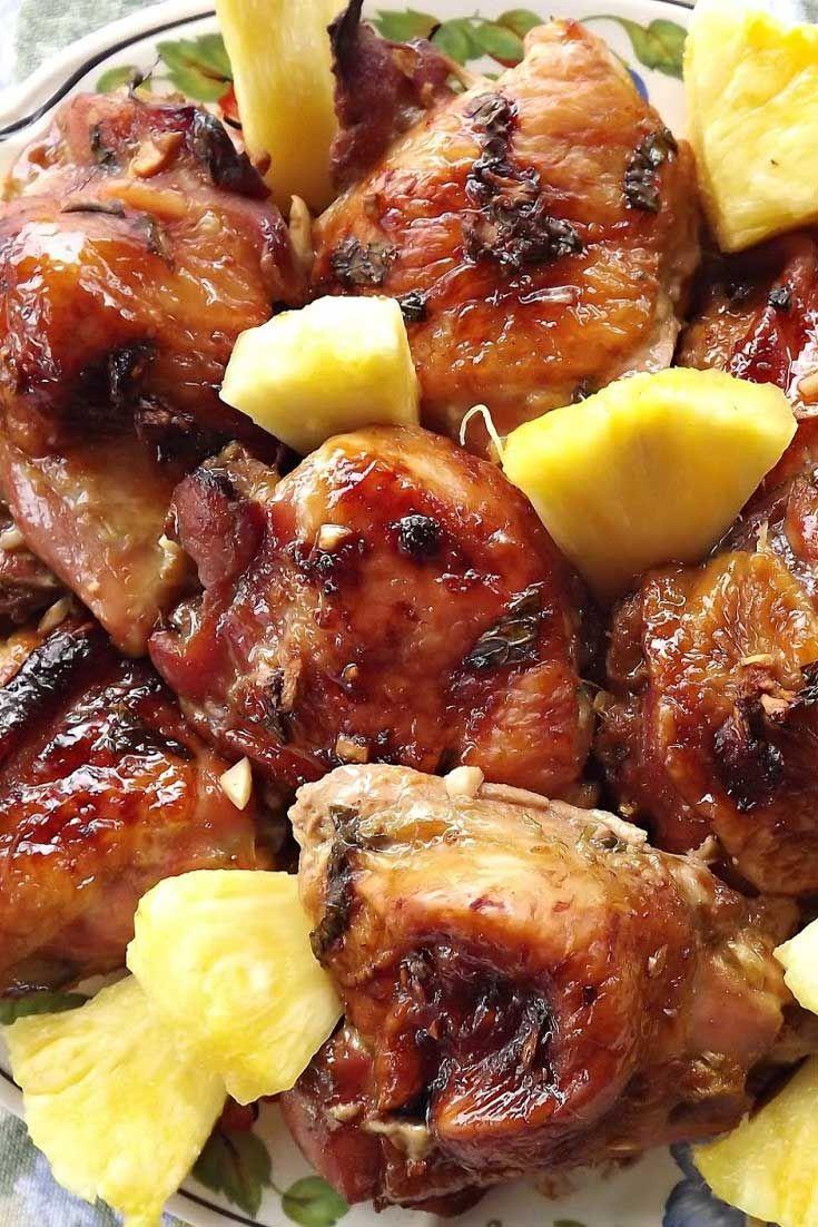 Recipe For Hawaiian Summer Chicken Recipe Hawaiian Food Hawaii Food Recipes