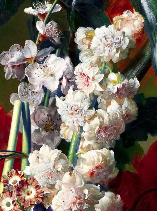 Jan van Huysum - Bouquet of Flowers in an Urn (1724)