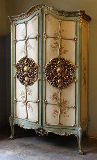 ANTIQUE WARDROBES FOR SALE | Antique Formal Armoires | Antique Armoires | Inessa Stewart's Antiques