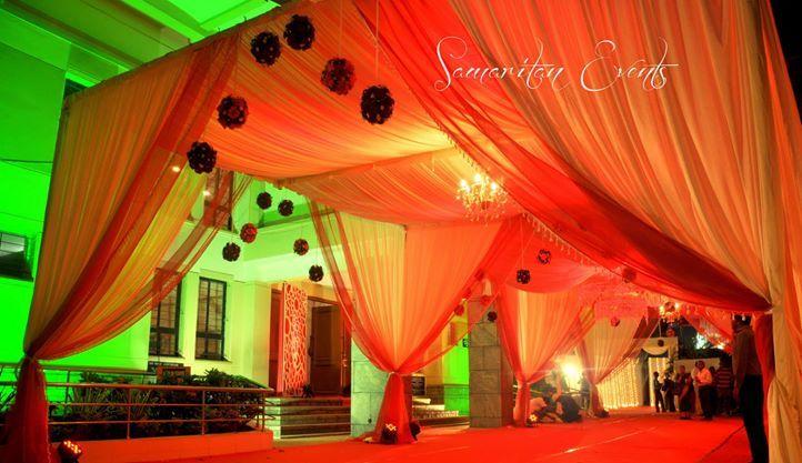 Grand Entrance Canopy Wedding Decor
