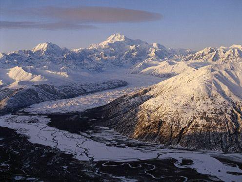 Alaskan Mountains: Mount Denali, Highest Mountain, Beautiful Mountains, Beautiful Places, Beautiful Landscapes, Denali National, National Parks