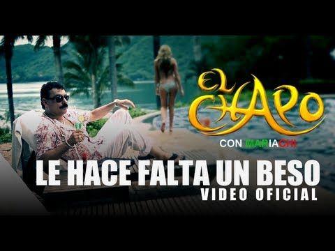 http://www.elchapooficial.com/ Video Oficial del Sencillo con Mariachi de El Chapo De Sinaloa titulado Le Hace Falta Un Beso Letra y Musica de Arturo Leyva v...