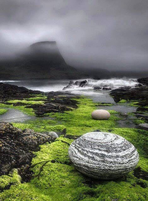 The beautiful Isle of Skye.