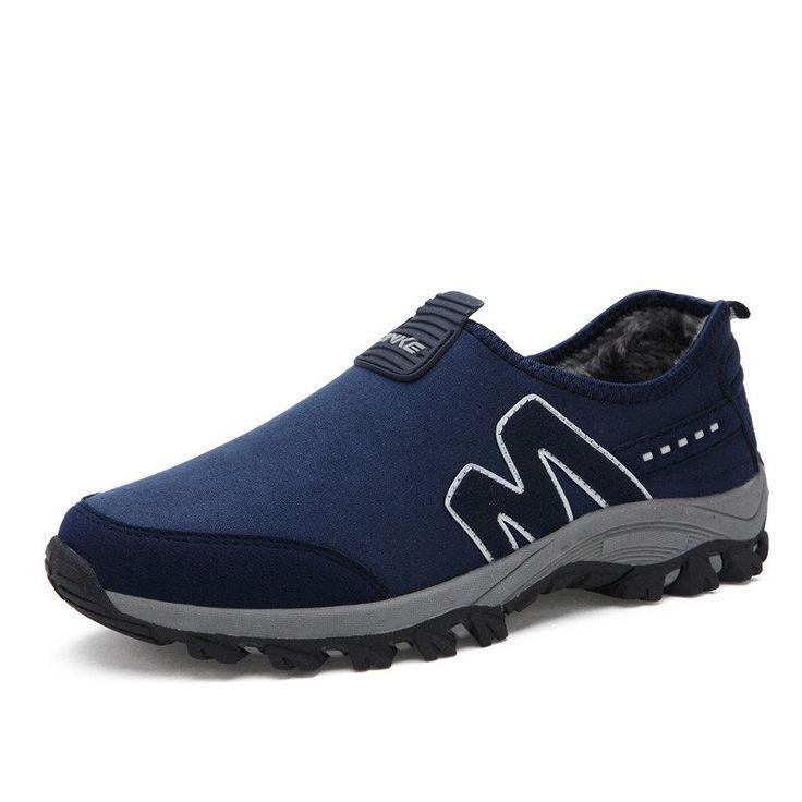 Faux Suede Warm Lightweight Men's Shoes