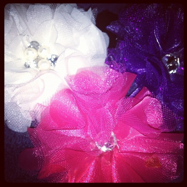 The flower bow making has begun  #silkflowers #bows #babygirl http://www.russwholesaleflowers.com/best-silk-wholesale-flowers  Russ Wholesale Flowers offers silk flower arrangements, silk flowers bulk, silk wedding flowers, silk flowers wholesale, silk orchids, silk roses...and more.  In addition we carry a large selection of real touch and natural touch flowers.