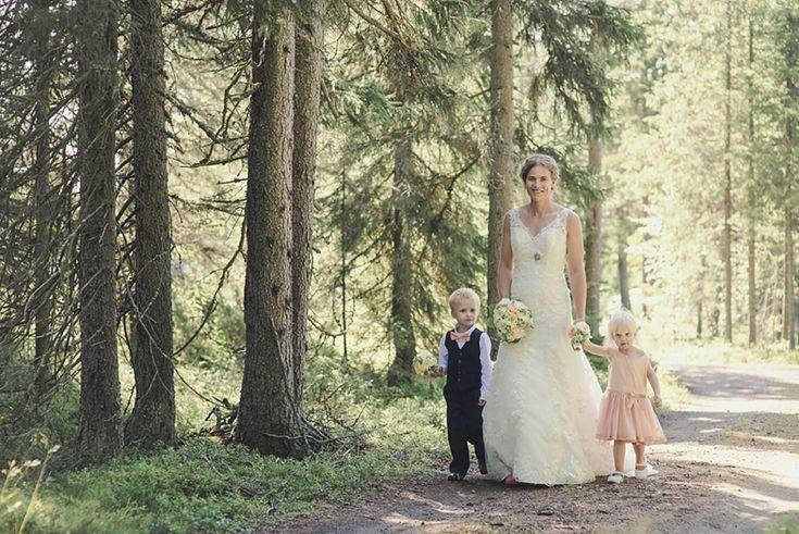 Wedding in Lövånger Sweden