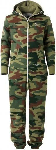 Lauren Bushnell wearing Onepiece Camouflage Jumpsuit