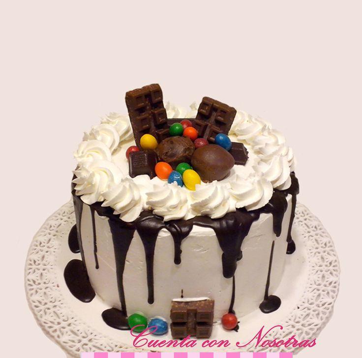 Drip Cake, Torta de Crema, Cuenta con Nosotras